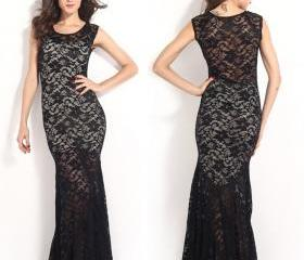 Sexy Mermaid Prom Dress Evening Dresses Bodycon Long Dress SD034